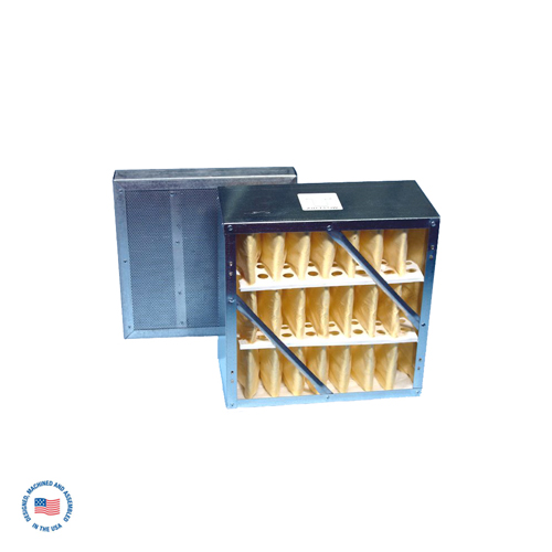 F-987-2SP-DCL Rigid Cell Filter & Refillable Adsorption Module with DCL Activated Carbon 1