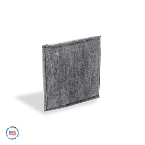 RF-DD6 Replacement final poly panel filter impregnated with activated carbon 1